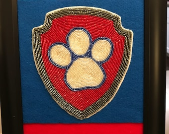 Beaded Paw Patrol picture