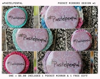 Pocket Mirrors Design 1