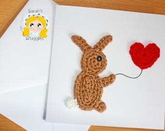 Crocheted cards for all occasions