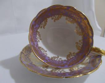 Royal Stafford Bone China Tea Cup and Saucer