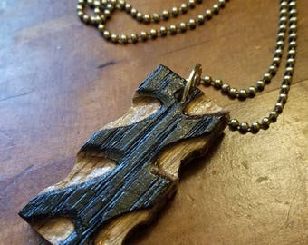 Made from beer barrel staves