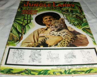Jungle Larry Expedition in the Amazon Jungles coloring book