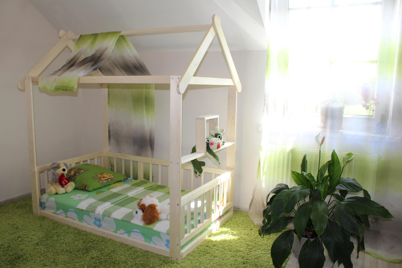 kleinkind bett haus bett kinderbett montessori bett kind. Black Bedroom Furniture Sets. Home Design Ideas