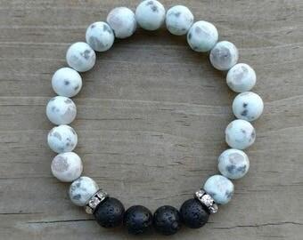 Lava bead bracelet, lava stone bracelet, essential oil diffuser bracelet, oil diffuser bracelet, aromatherapy, aromatherapy bracelet,stretch