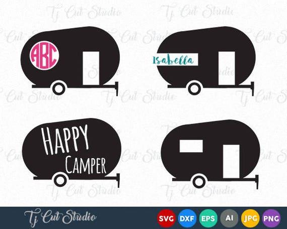 Camper Svg Happy Camper Svg Happy Camper Happy Camper Svg