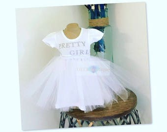 Single Layer Tutu Dress