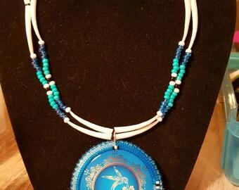 Blue Hummingbird set
