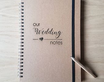 bride notebook wedding notebook bride to be notebook a5 notebook bride journal