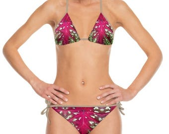 Bikini with Tropical Flair