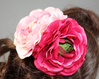 "Vintage inspired rockabilly hair flower/Hairflower ""Lianne"""