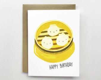 Dim Sum - Birthday Card