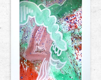 Original painting, shop small, art, housewarming gift