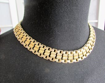 Broad Vintage Necklace from 1960's