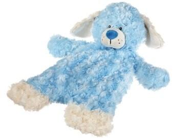 Flat-A-Pat Blue Puppy Dog By Ganz
