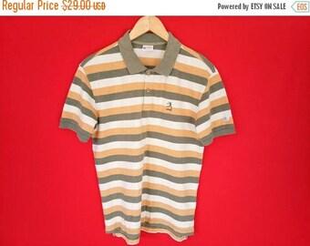 vintage Champion running man polo shirt