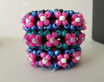 Multicolor 3D Cuff
