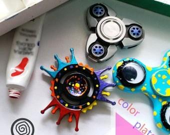 EDC Metal Fidget Spinner - Color Plate