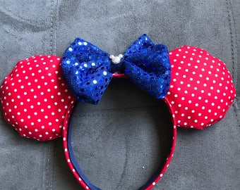 Disney Inspired Minnie Mouse ears