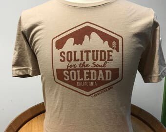 100% Cotton T-shirt Soledad Solitude for the Soul Central Coast California