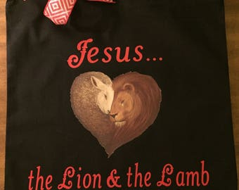 Jesus...the Lion and the Lamb
