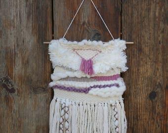 Eclectic Organic Wall Weaving