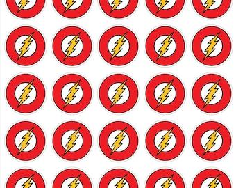 Flash Logo Flash sticker decal Flash Wall Decal Flash Birthday Party Flash wallpaper Flash Nursery Flash waterbottle