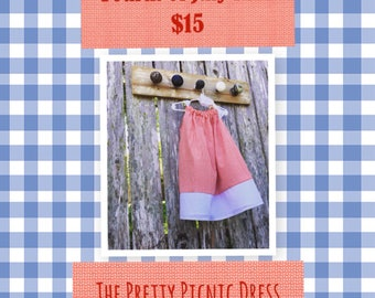 The Pretty Picnic Dress (fourth of july SALE)