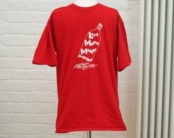 Red USA vintage T-shirt