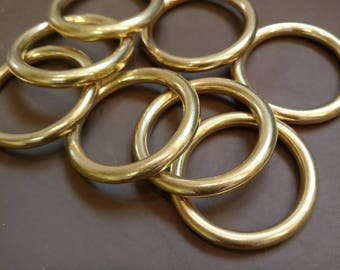 "Solid Brass 1"" O Ring"