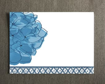 Hydrangea Note Cards