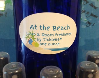 At the Beach Linen & Room Freshener by Tickless* one ounce spray