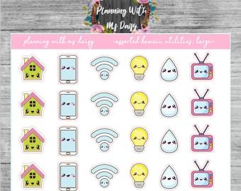Kawaii Utilities Stickers