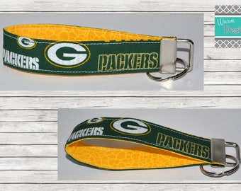 Green Bay Packers Key fob, Keychain, Wristlet