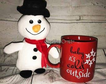Baby Its Cold Outside Coffee Mug | Christmas Mug | Coffee Mug | Holiday Gift | Holiday Mug | Christmas Gift | Christmas Coffee Mug