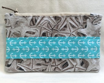 Handmade zipper bag