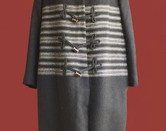 Vintage 50's Tissus Raimon Paris unisex coat