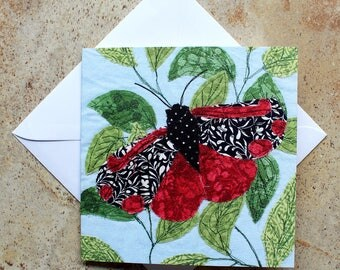 Greeting card, Birthday card, Thank you card, moth, butterfly, leaves