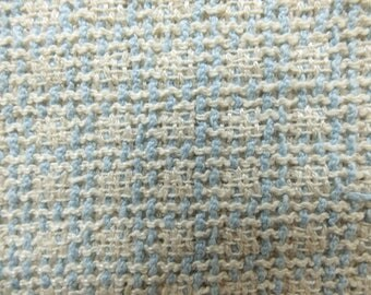 Chanel Fabric Swatch Blue White