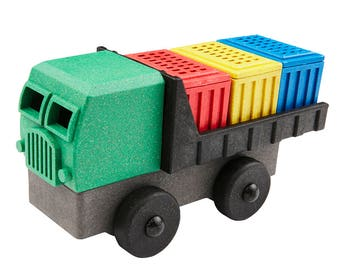 EcoTruck Cargo Truck stacking toy truck made in USA