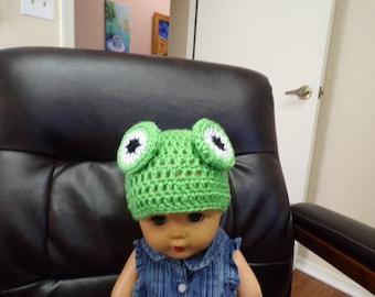 Child's Frog Hat