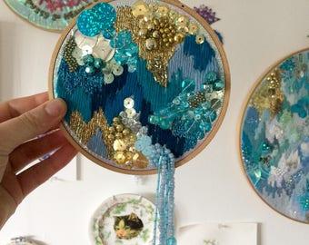 Dreamscape Original Embroidery 13cm