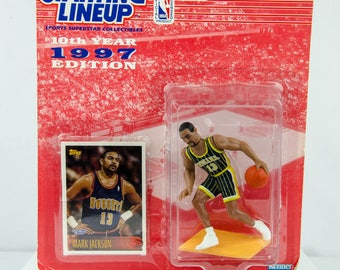 Starting Lineup 1997 NBA Mark Jackson Action Figure Indiana Pacers