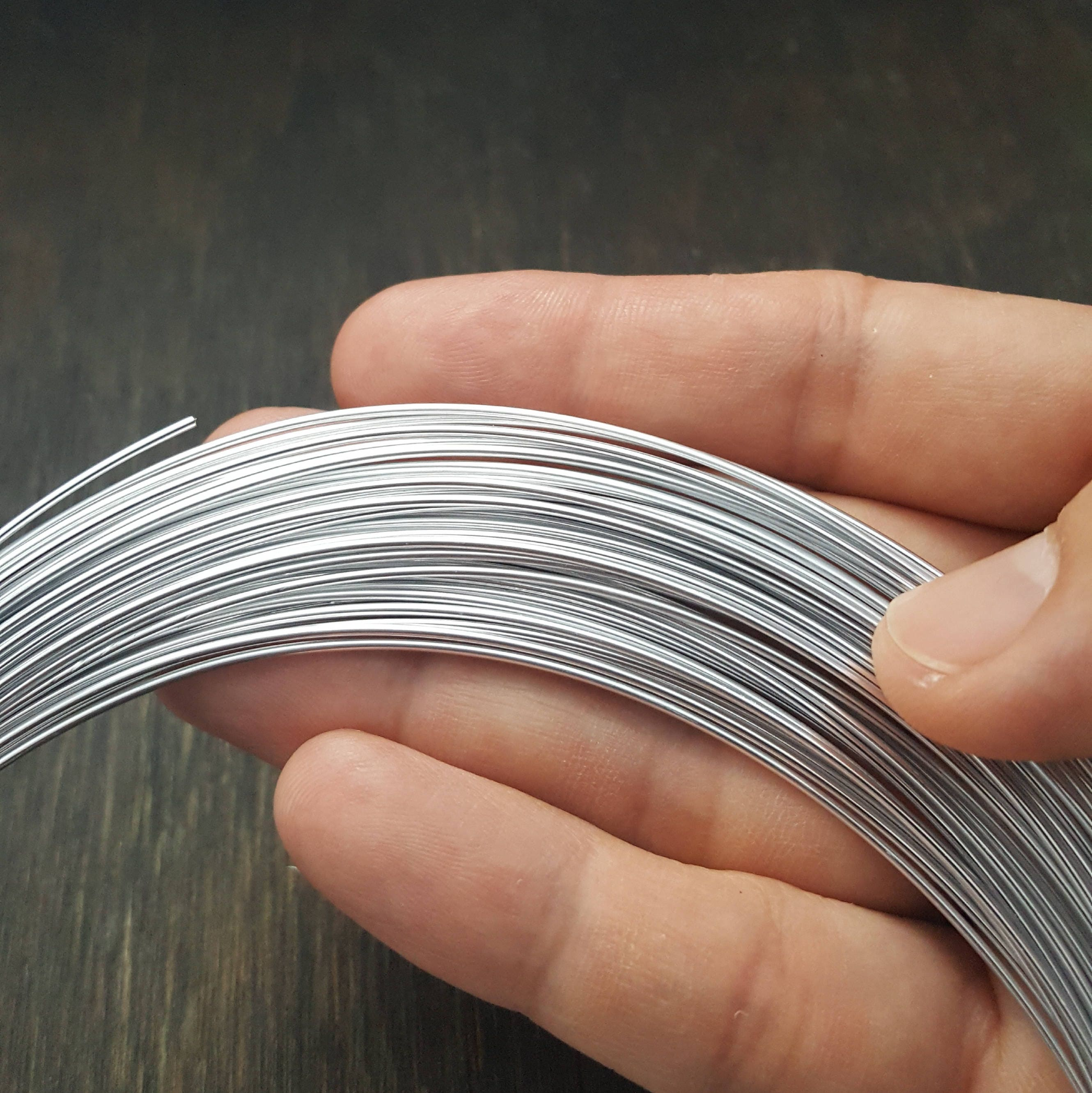 Round Wire anodized aluminum 10,12,14,16,18,20 gauge. Anodized ...