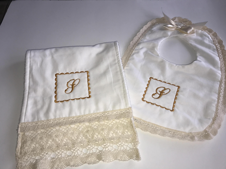 Bib and burp cloth set!!!