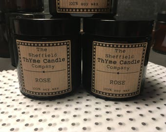 Two Soy Wax Candles