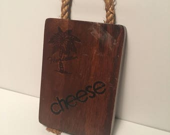 Florida cheese board 70's