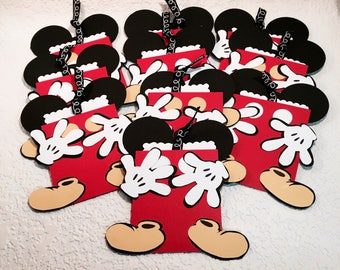 Set of 10 Mousekeeping Envelopes or use as Disney Gift Card Holders