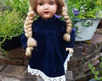 Beautiful old Doll by Bruno Schmitz