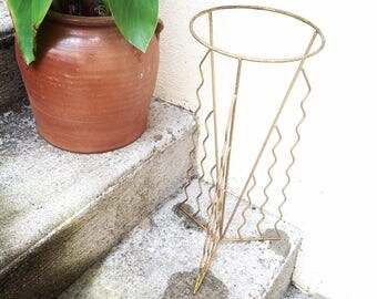 Worn Flower Pot planter decorative vintage furniture