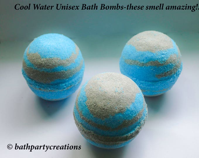 Cool Water For Men Bath Bombs
